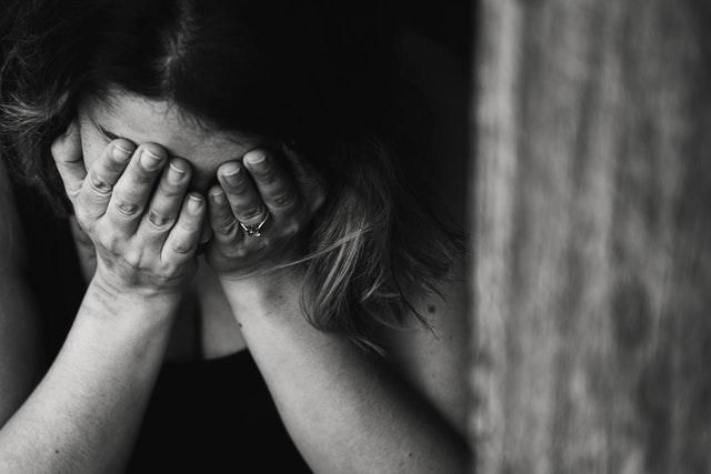 Depressive Partnerin