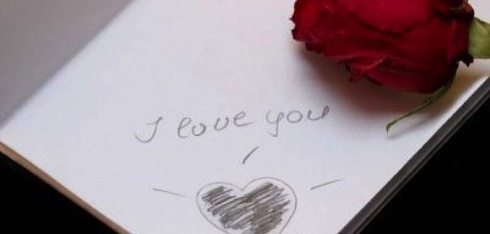 I love you: Gefühle mit Liebesbriefen ausdrücken