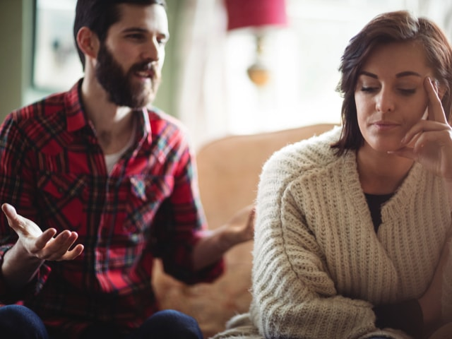 Verbale Gewalt in Partnerschaft