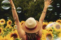 Glücklich sein im Leben
