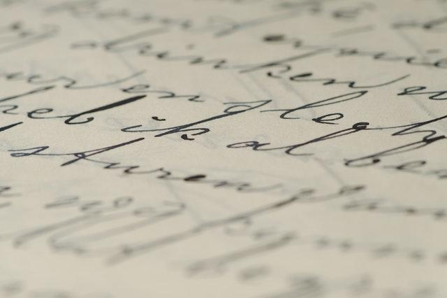 Schreibe deine Gefühle auf